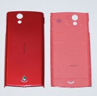 Original Sony Ericsson Xperia Ray ST18i Akkudeckel, Battery Cover, Pink