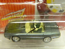 Johnny Lightning 1966 CHEVY CORVETTE D Green MOGC Awesome Poker Series #11 NICE*