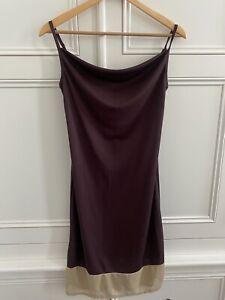 Sisley Womens Purple Dress Size S