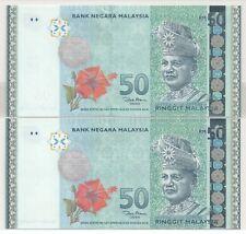 RM50 ZETI MERDEKA AA AE FIRST LAST PREFIX @ UNC