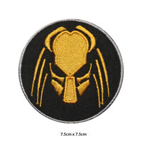 Predator Movie Embroidered Patch Iron on Sew On Badge For Clothes Bags etc