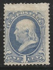US Scott #182, Single 1879 Benjamin Franklin 1c AVG MH