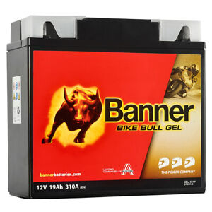 Banner 12V 19Ah Gel Motorrad Batterie GT20H-3 Gel12-19 BMW ABS R 1150 1200 GS