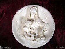 Muro piatto alabastro Madonne viventi Madonna saggia Dante di volterradici
