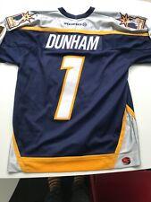 New listing NHL NASHVILLE PREDATORS DUNHAM ICE HOCKEY SHIRT JERSEY KOHO SIZE L LARGE ADULT