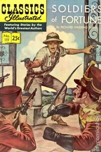 Classics Illustrated 119 Soldiers of Fortune #3 VG 1970 Stock Image Low Grade