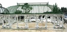 MONUMENTAL WORLD CLASS MARBLE FIGURATIVE ESTATE INCREDIBLE PALACE GAZEBO - MMG1