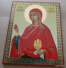 Marvelous Russian  icon Mary Magdalene 5.5x4.5 inches #5