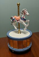 Carousel Collection Carousel Horse Music Box