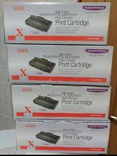 LOT X4 NEW Genuino Xerox PE120 tóner WORKCENTRE PE120/PE120I ALTA CAP. 013R00606