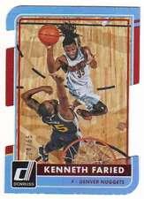2015-16 Donruss Basketball Inspirations Die Cut /65 #89 Kenneth Faried Nuggets