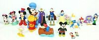 DISNEY Vintage 1988-1993 Lot Of 17 Figurines Donald/Daisy/Mickey/Minnie Plus+++