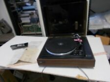Vintage BSR McDonald Turntable Record Player Model 20BP w Original Box
