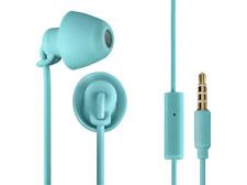 Auriculares de botón - Thomson In Ear 3008 Piccolino, Silicona, Turquesa