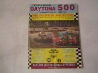 1970 DAYTONA 500 RACING PROGRAM - NICE - TUB BN-9