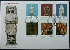 Portugal Discoveries Art 1995 Culture (stamp Fdc)