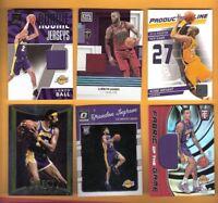 LEBRON JAMES Kobe Bryant KYLE KUZMA LONZO BALL Jersey INGRAM ROOKIE CARD LAKERS