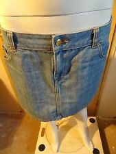 (730) Damen Jeans Minirock H&M Gr: S