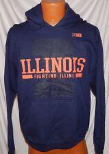 NWT - Illinois Fighting Illini - Hoody Sweatshirt - Size: Medium - NCAA - Big 10