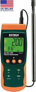 Genuine Extech® SDL350 Hot Wire Thermo-Anemometer and Datalogger