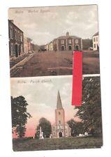Moira Market Square & Parish Church E J McKeown Armagh unused Northern Ireland