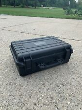 Black Military Carrying Hard Case | 18 x 14 x 7 | With foam