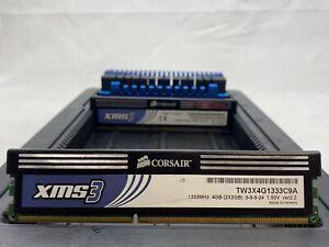 LOT 7 CORSAIR G.SKILL PATRIOT 2GB DDR3 PC3-10600 1333 HS NONECC DIMM MEMORY RAM