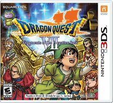 NEW Dragon Quest VII Fragments of the Forgotten Past 7 (Nintendo 3DS, 2016)