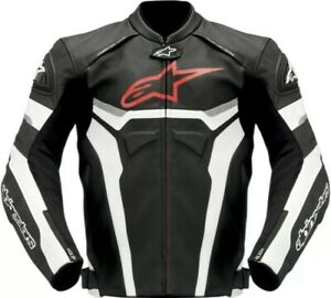 LEATHER MOTORBIKE NEW ALPINESTAR MOTORBIKE JACKET FOR MENS AVAILABLE  All SIZE's