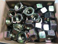 "50 Pc Grade 8 Steel 9/16"" - 12 Coarse Thread Hex Nuts"