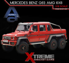 AUTOART 76304 1:18 MERCEDES BENZ G63 AMG 6X6 RED
