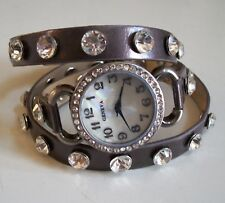Dressy/Casual Wrap Around Bling Sparkly Rhinestones Fashion Women's/Girl's Watch