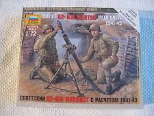 Zvezda 1/72 scale Soviet 82 MM Mortar