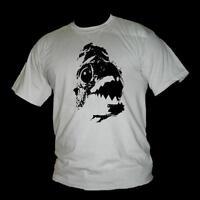 Herren Unisex Kurzarm T-Shirt Qualle jellyfish Nesseltier Polyp Wassertier