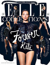 British UK Elle Collections Magazine AUTUMN/WINTER 2011,KATE MOSS,Corinne Day
