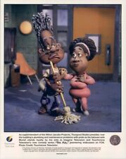 1999 Press Photo The PJ's Stop Motion African American TV Show