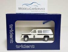 "Trident 1/87 (H0): 90177 Chevrolet Suburban ""Military Police"" U.S. Army Europe"