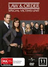 LAW & ORDER SVU (COMPLETE SEASON 11 - DVD SET SEALED + FREE POST)