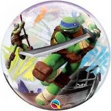 "Teenage Mutant Ninja Turtles Tmnt Birthday Bubble Foil Balloon 22"""