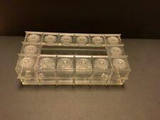 Vintage Lucite Tissue Box Acrylic Mid Century Modern Atomic MCM