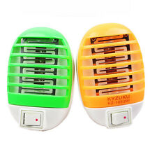 LED Electric Moskito Fly Bug Insect Trap Zapper Killer Nacht Lampe US Plug Roung