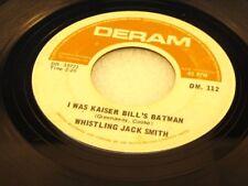WHISTLING JACK SMITH - I Was Kaiser Bill's Batman - 1967 VG+ CANADA PRESSING 45