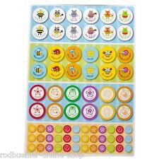 Lehrersticker Sticker Lehrer 504 Stück Lehrermaterial Lernen Motivationshilfe