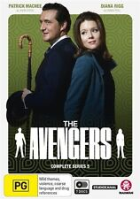 The Avengers - Complete Series 5 NEW R4 DVD