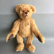 Martin Teddy Bear Rare  Top Condition Hand Made Metallic green chest tag 10''
