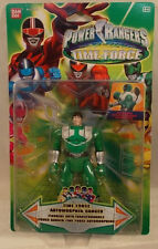 Power Rangers Time Force Auto Morphin Flip Head Green Ranger By Bandai (MOC)