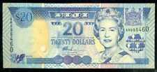 FIJI  -  20  DOLLARS ND  (2002)   -  P  107  Prefix AR   Uncirculated