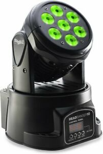 Stagg HeadBanger 7 x 10 Watt LED RGBW Moving Head Stage Light - SLI MHW HB10-1