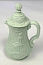 Lladro Mint Green Mini Pitcher Sculptured