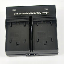 Twin Battery Charger for Sony NP-FV50 FV70 DCR-SX65 DCR-SX65E Handycam Camcorder